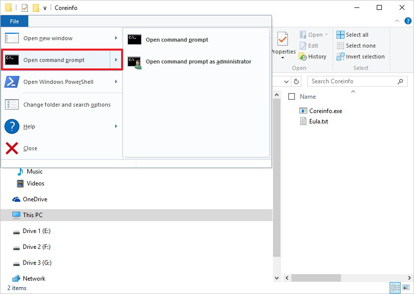 Переход на 64-битный вариант Windows 10 - CoreInfo (1)
