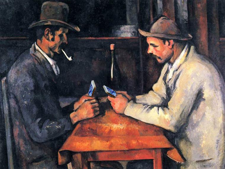 Поль Сезанн «Гравці в карти», 1892-1893