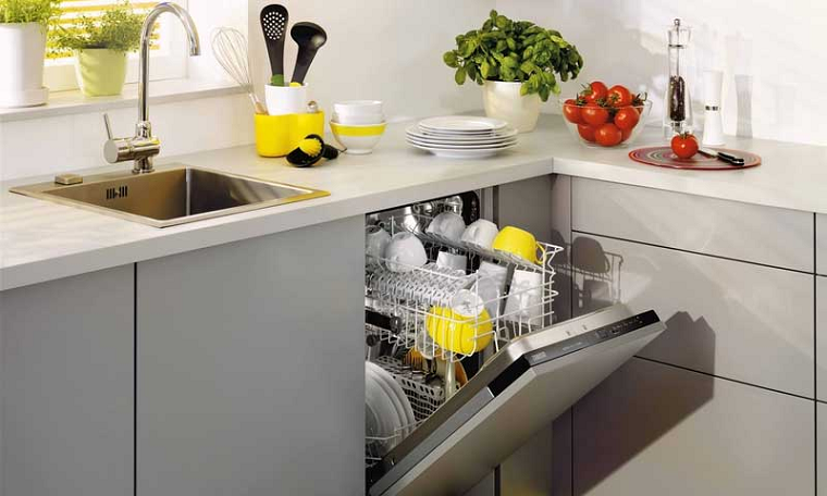 Посудомоечные машины-в интерьере фото 1