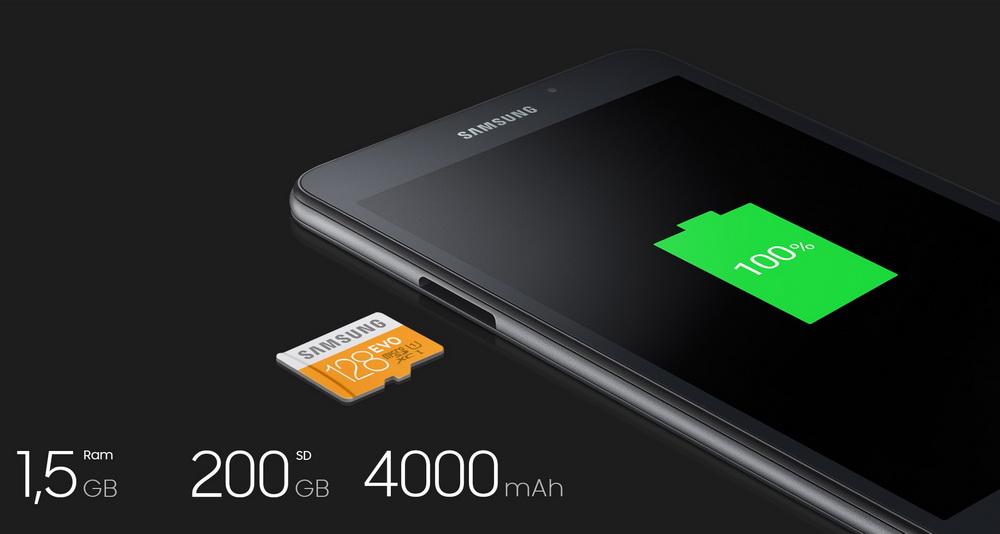 Samsung Galaxy Tab A 7.0 2016- Главные технические характеристики