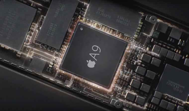 В iPhone 6 процессор