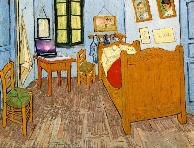 Вінсент Ван Ґоґ «Спальня в Арлі», 1888-1889
