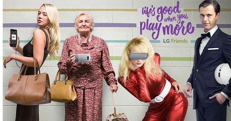Возможности LG Friends G5