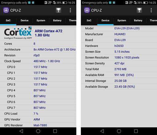 фото Huawei P9-CPU-Z Huawei P9-CPU-Z 2