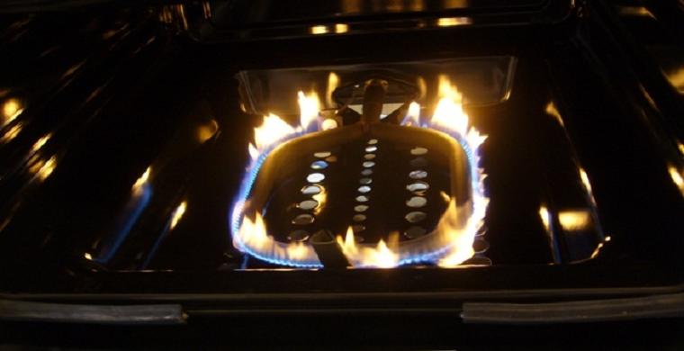 газ плита духовка
