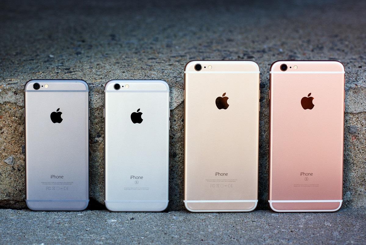 iPhone 7 расцветки
