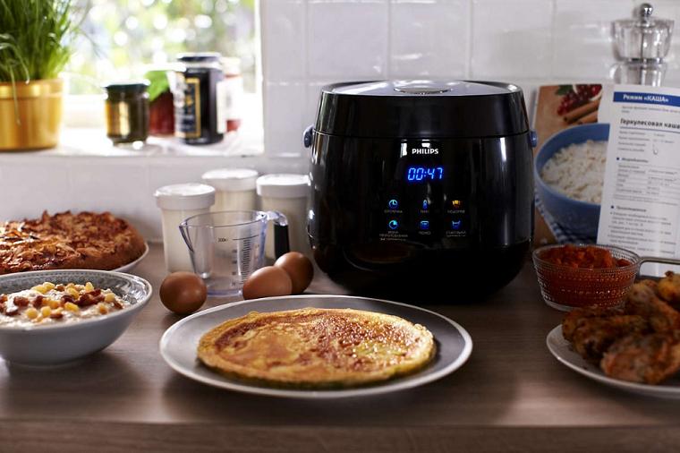 мультиварка на кухне готовые блюда