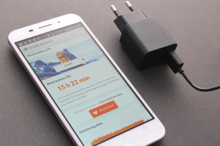 Asus Zenfone Max ZC550KL-автономная работа