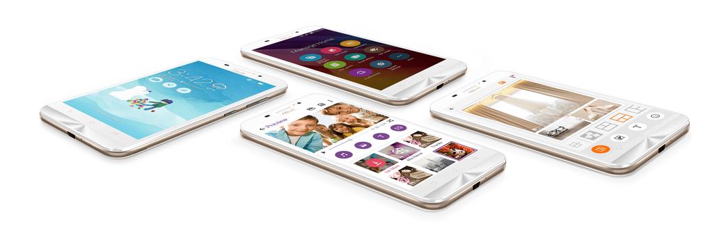Asus Zenfone Max ZC550KL-интерфейс приложения