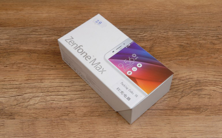 Asus Zenfone Max ZC550KL-комплект поставки фото 2