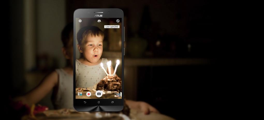 Asus Zenfone Max ZC550KL-съемка при плохом освещении режим