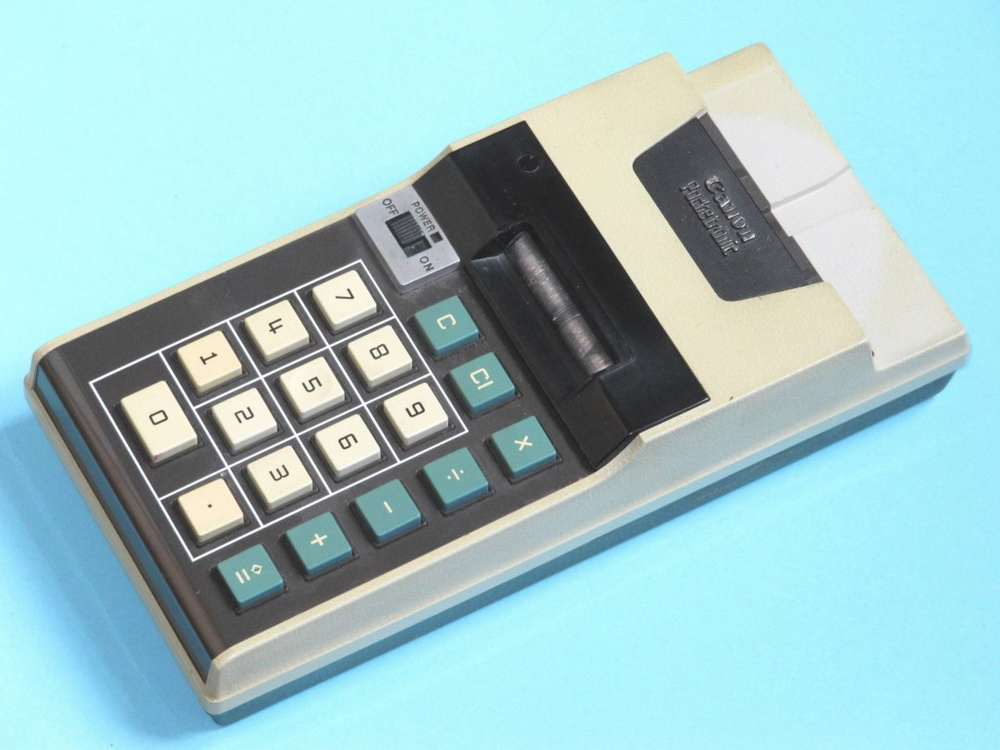 Canon Pocketronic-калькулятор