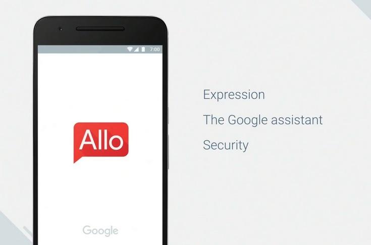 Google Allo-мессенджер