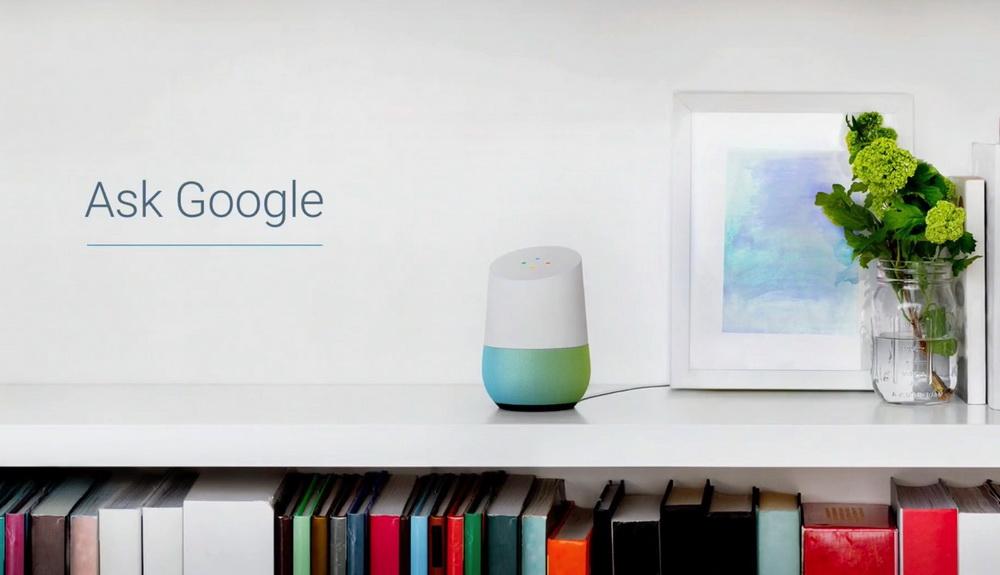 Google Home-умный домашний динамик фото 6