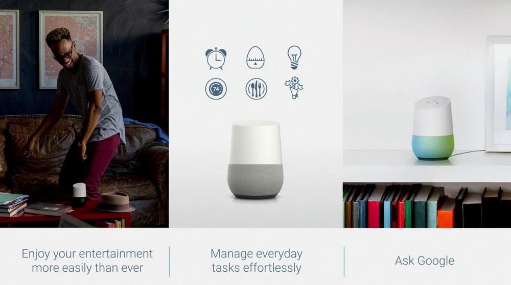 Google Home-умный домашний динамик фото 7