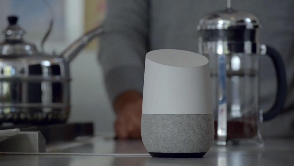 Google Home-умный домашний динамик фото 8