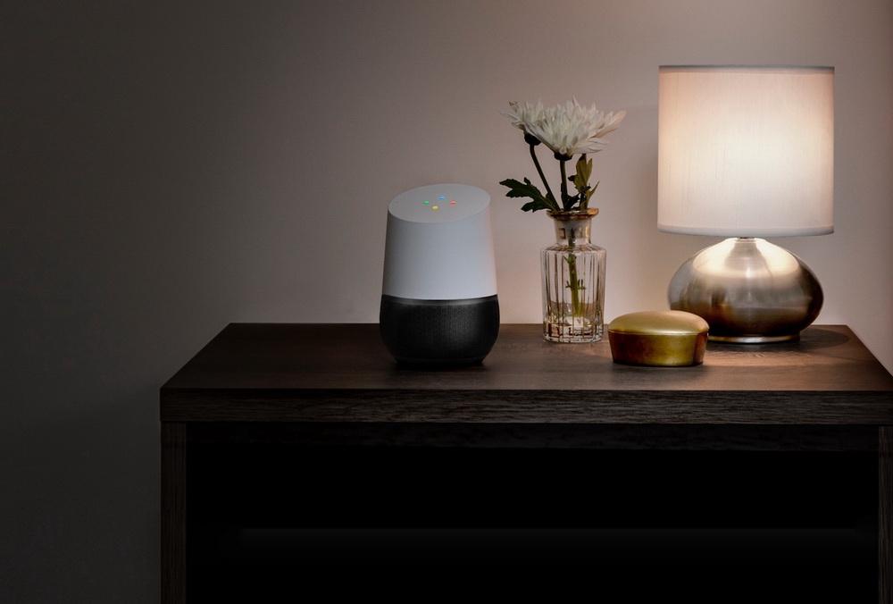 Google Home-умный домашний динамик фото 9