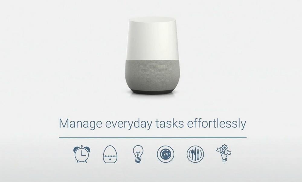 Google Home-умный домашний динамик возможности