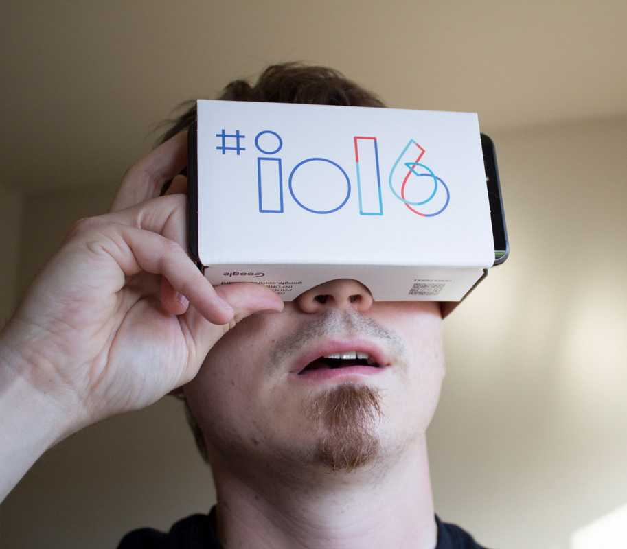 Google IO-2016-VR Cardboard
