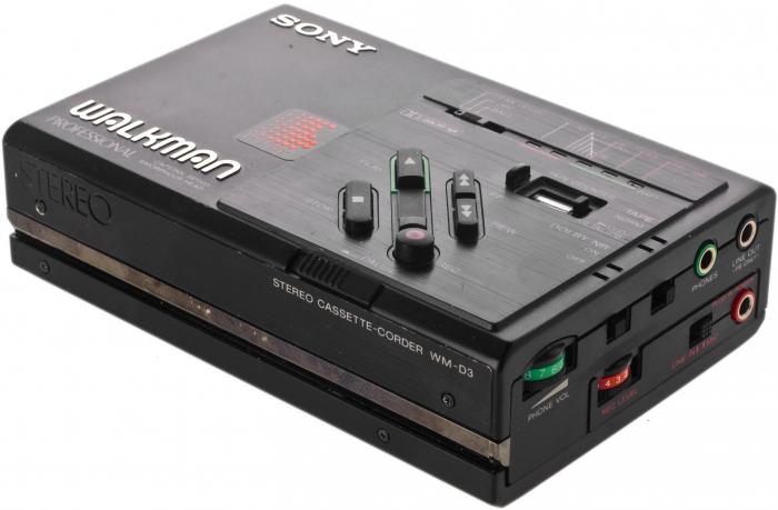 Кассетный плеер Sony Walkman-общий вид
