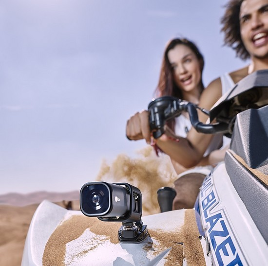 LG представила 4K экшн-камеру с поддержкой LTE - фото 2
