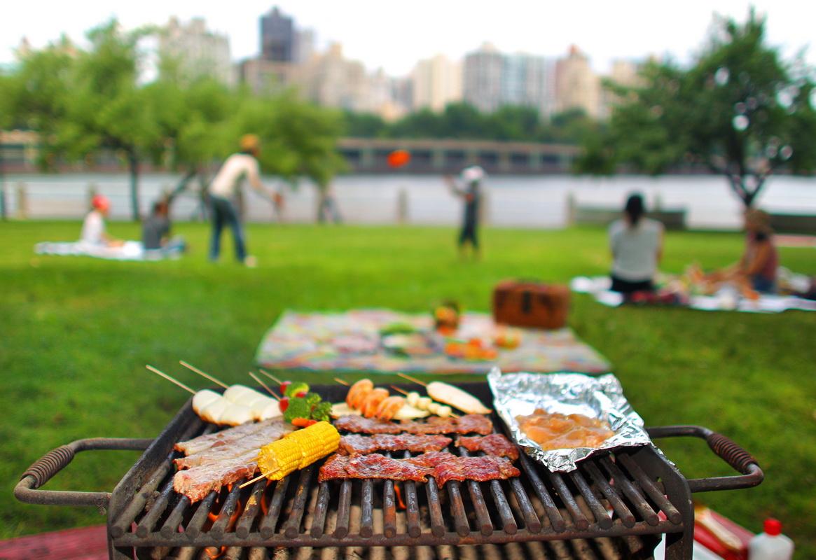 Майские праздники-пикник