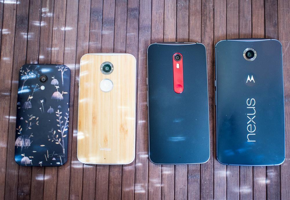Moto X Family-дизайн задняя панель