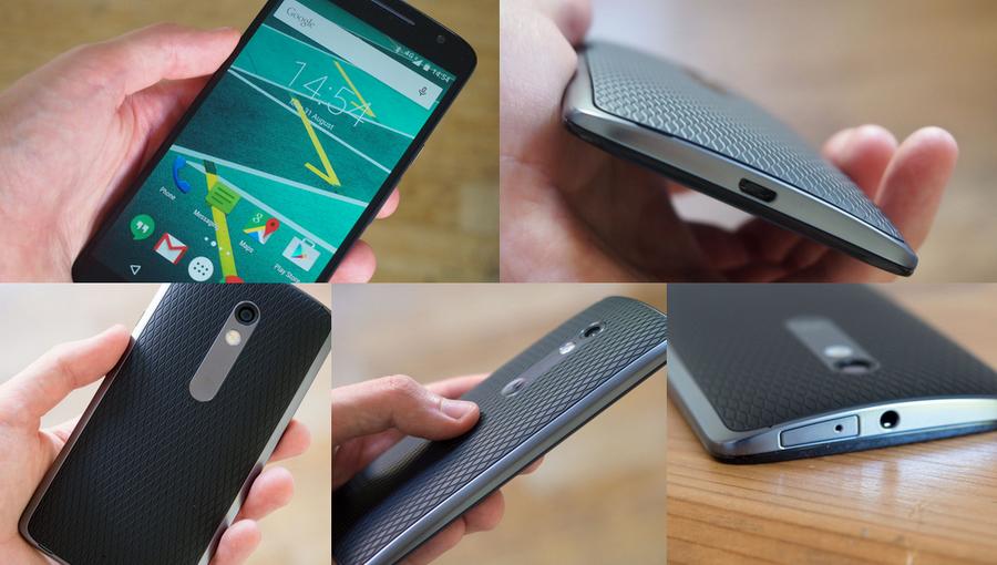Moto X Play-Пять ракурсов