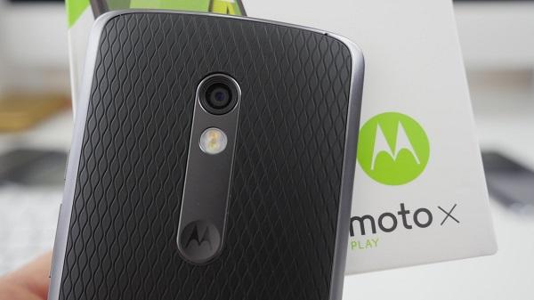 Moto X Play - камера