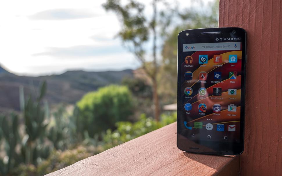 Motorola Moto X Force- 2 Дисплей