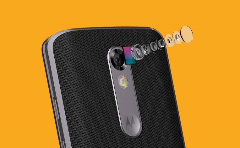 Motorola Moto X Force-21-мегапиксельная камера