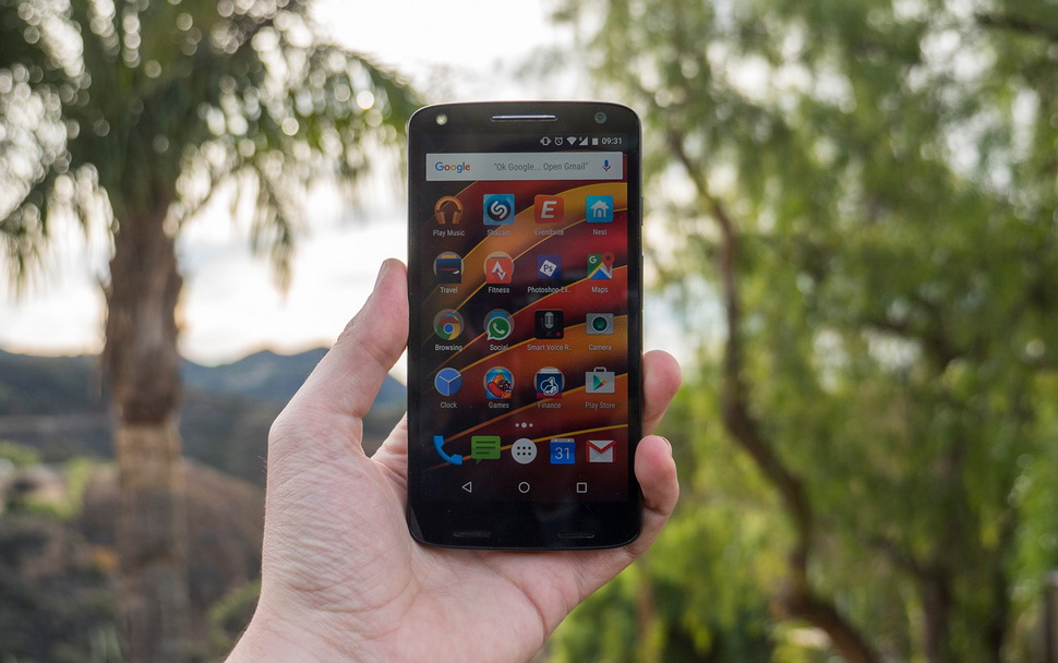 Motorola Moto X Force- 3 Дисплей