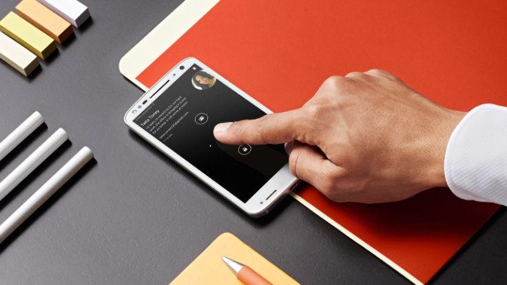 Motorola Moto X Force-Active Display