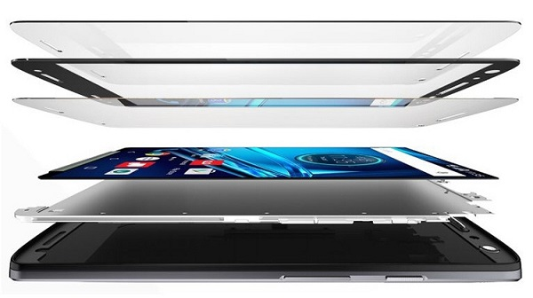 Motorola Moto X Force- Строение дисплея
