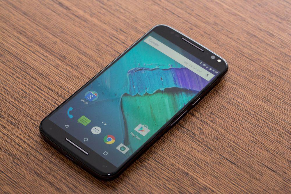 Motorola Moto X Style-экран фото 1