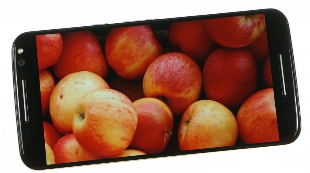 Motorola Moto X Style-экран цветопередача фото 3