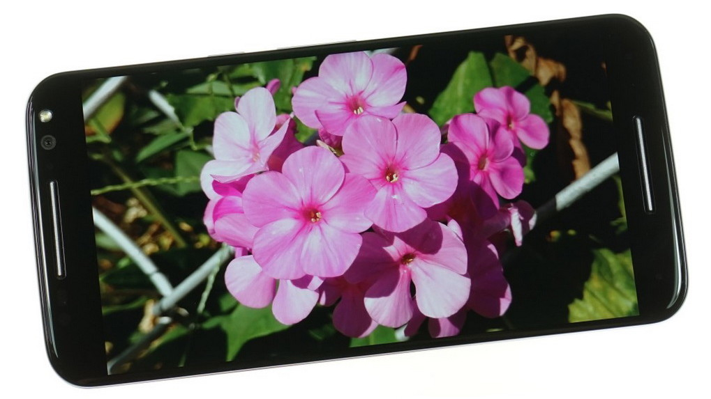 Motorola Moto X Style-экран цветопередача фото 4