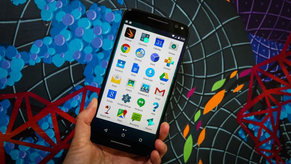 Motorola Moto X Style-экран виджеты