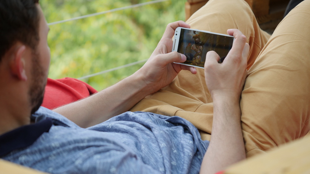 Motorola Moto X Style-игры на смартфоне