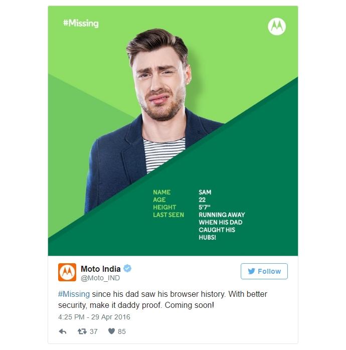 Motorola опубликовала в сети тизеры Moto G4 и Moto G4 Plus - тизер 1