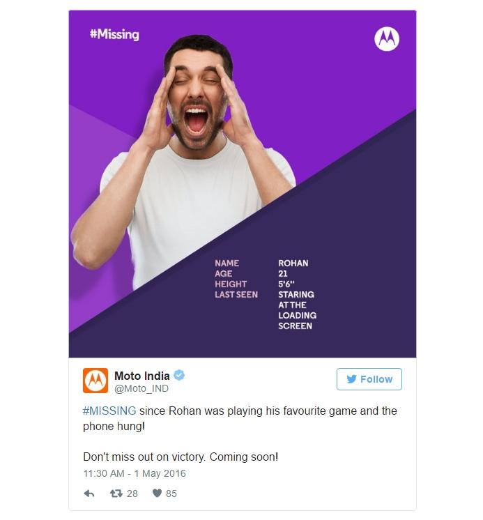 Motorola опубликовала в сети тизеры Moto G4 и Moto G4 Plus - тизер 2