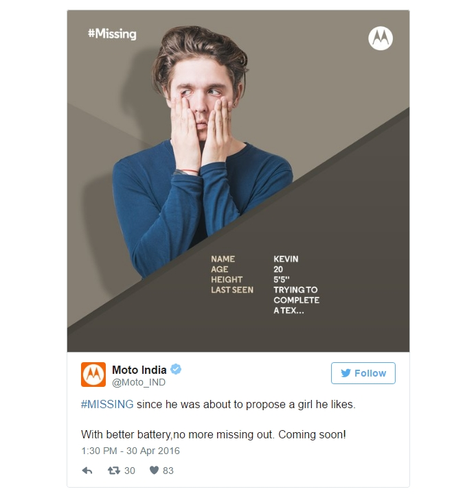Motorola опубликовала в сети тизеры Moto G4 и Moto G4 Plus - тизер 5