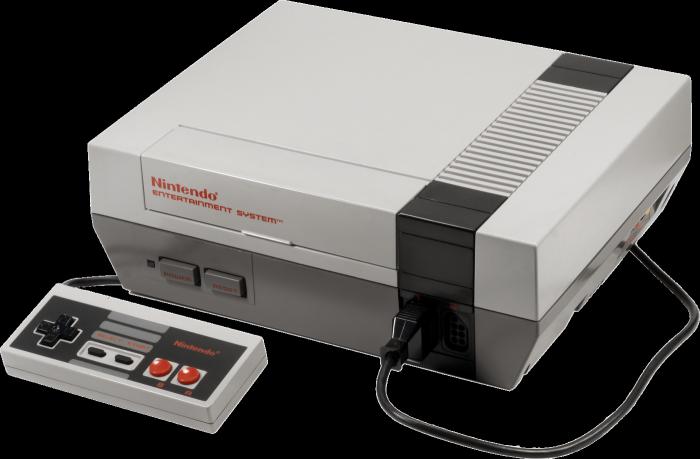 Nintendo Entertainment System-игровая консоль 8 бит