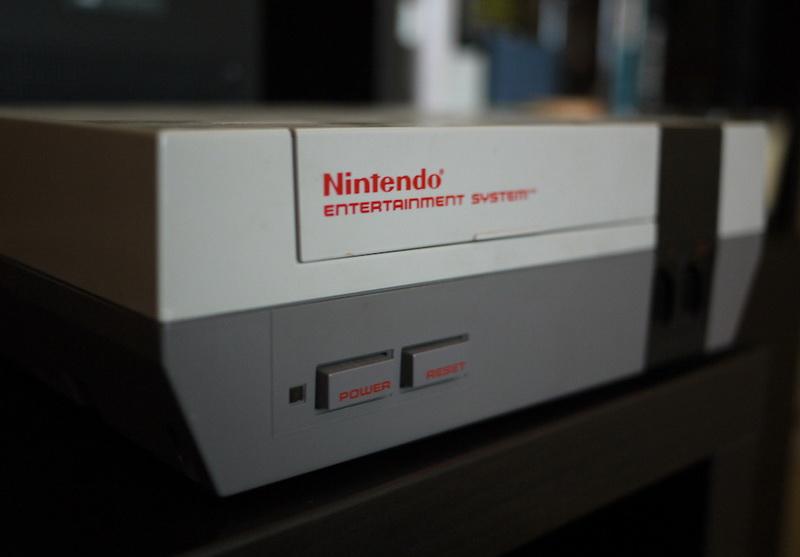 Nintendo Entertainment System-игровая консоль