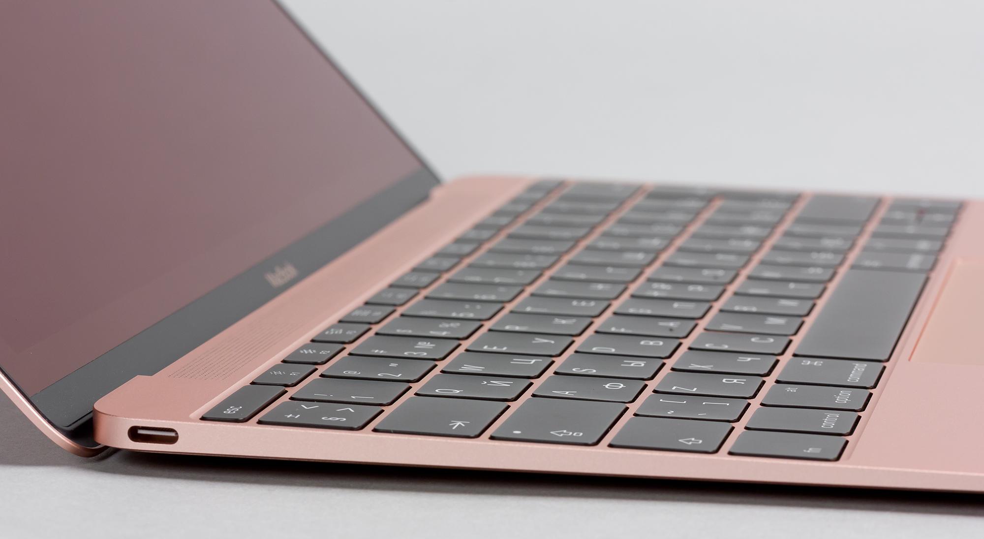 Обзор 12-дюймового MacBook (2016) - клавиатура