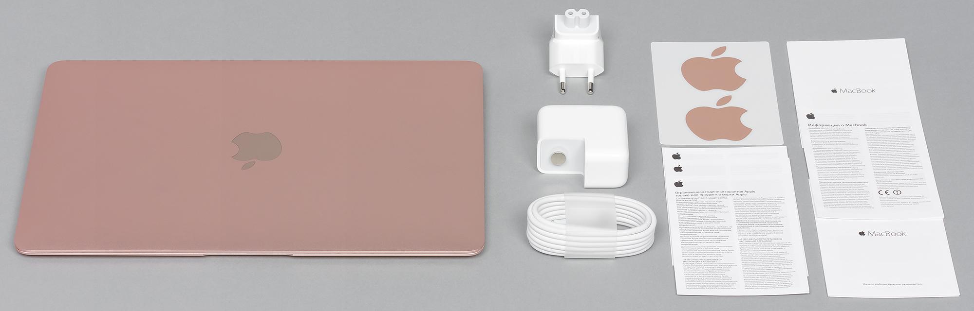 Обзор 12-дюймового MacBook (2016) - комплект поставки (2)