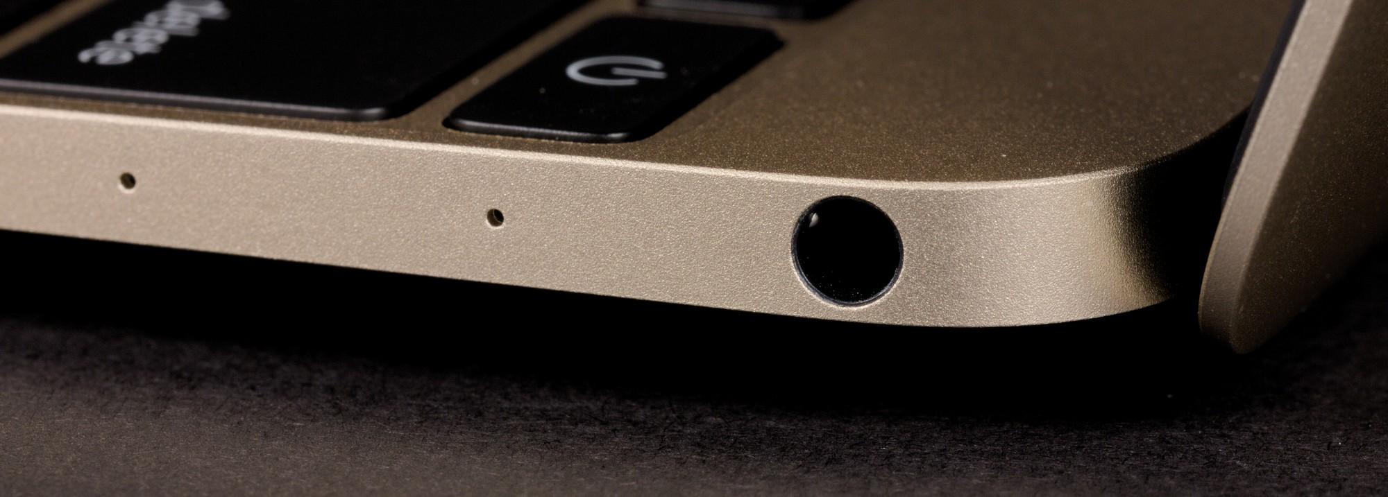 Обзор 12-дюймового MacBook (2016) - правая грань