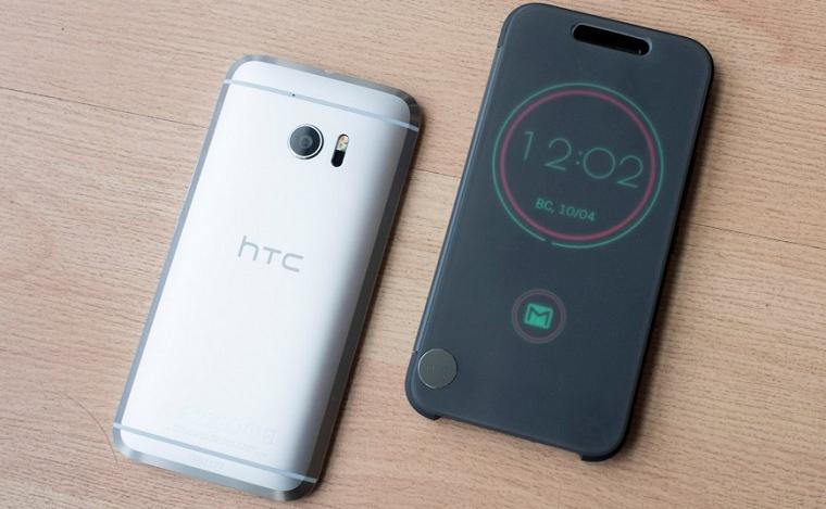 Обзор нового флагмана HTC 10 - Фирменный чехол IceView