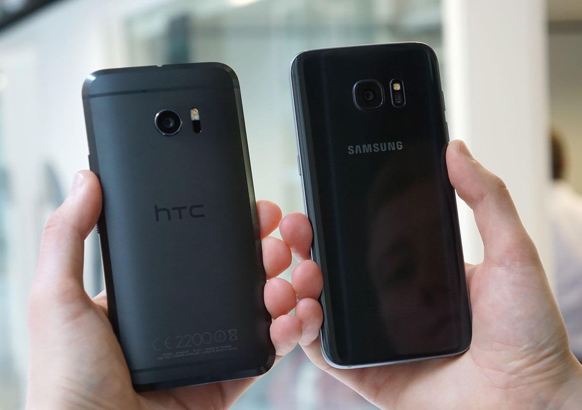 Обзор нового флагмана HTC 10 - В сравнении с Galaxy S7