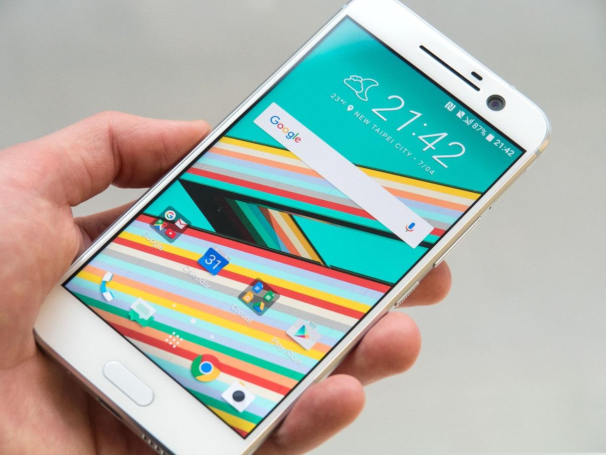 Обзор нового флагмана HTC 10 - экран
